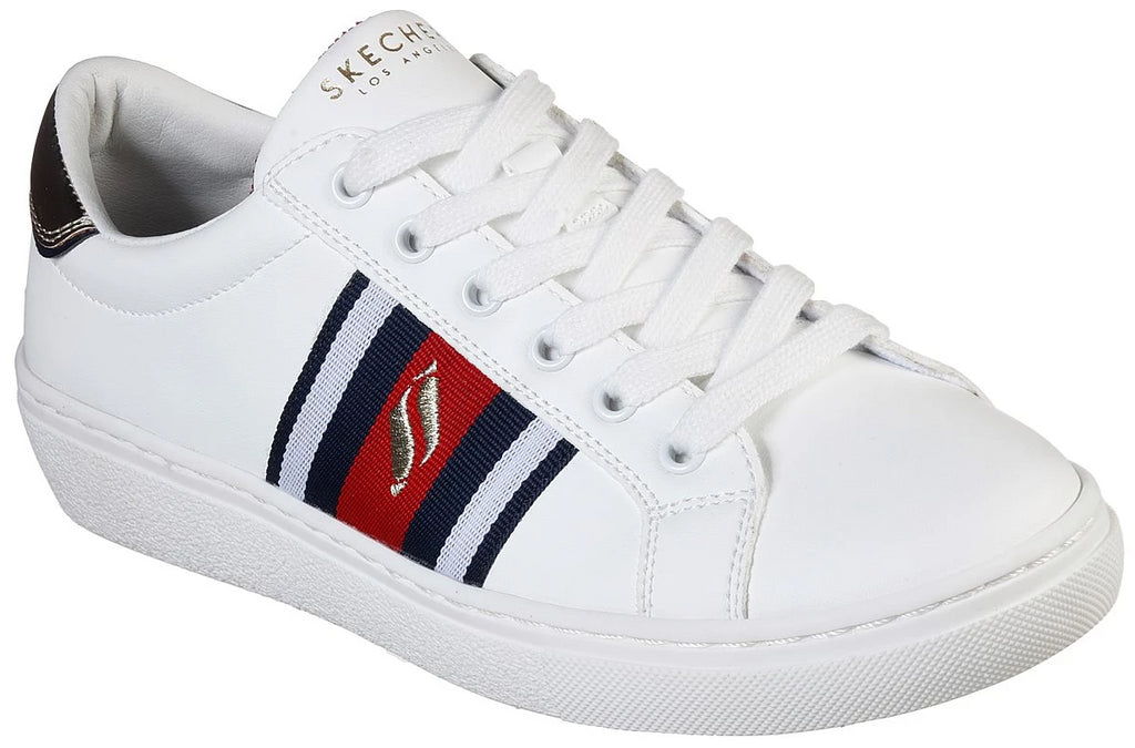 Skechers - Goldie: Collegiate Cruizers (73814 White/Navy/Red)