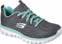 Skechers - Graceful: Get Connected (12615 Grey/Green)