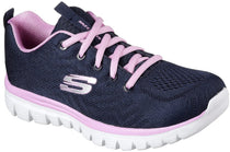 Skechers - Graceful: Get Connected (12615 Navy/Pink)