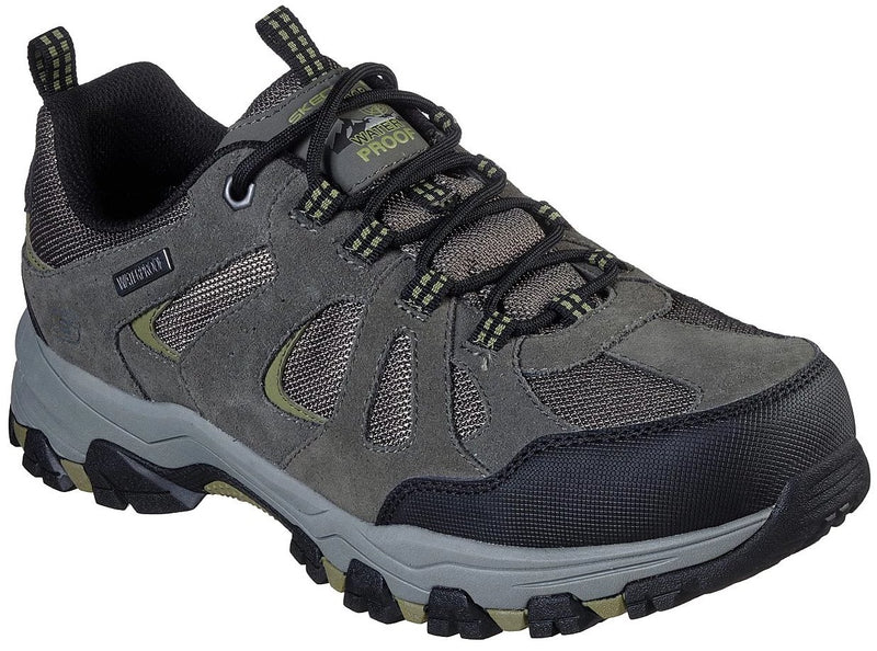 Skechers - Relaxed Fit: Selmen - Revano (66276 Grey Mesh)