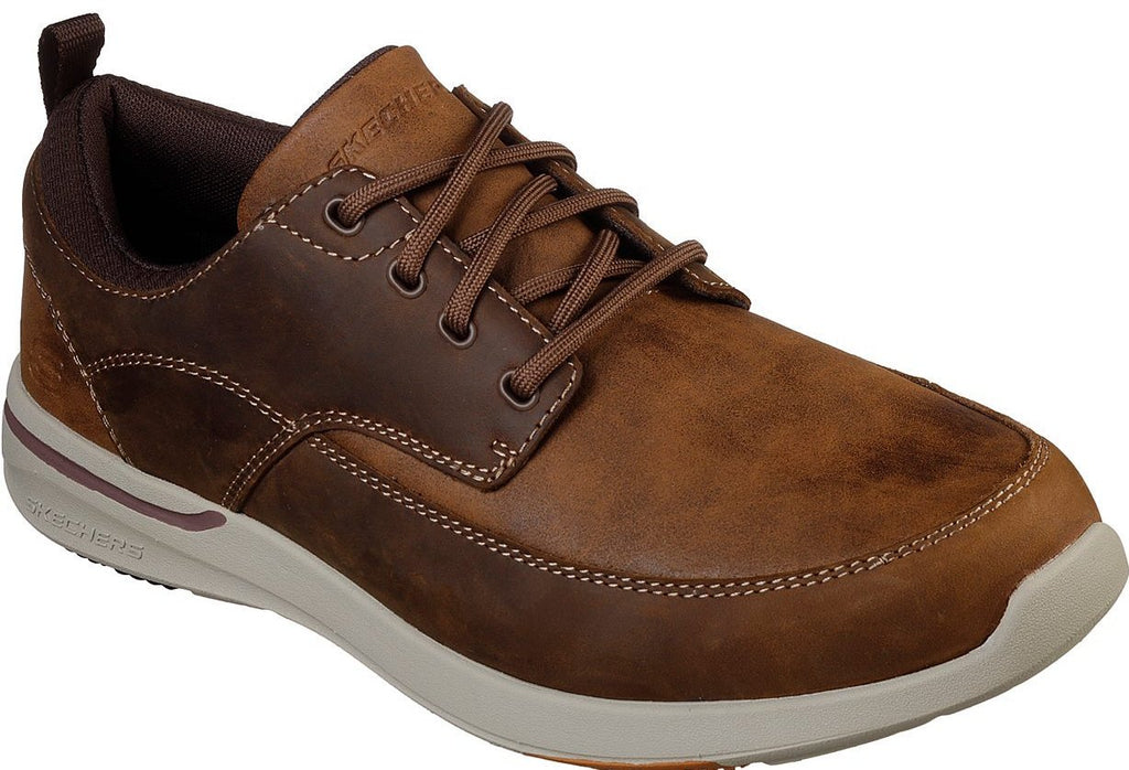 Skechers - Relaxed Fit: Elent - Leven (65727 Brown)