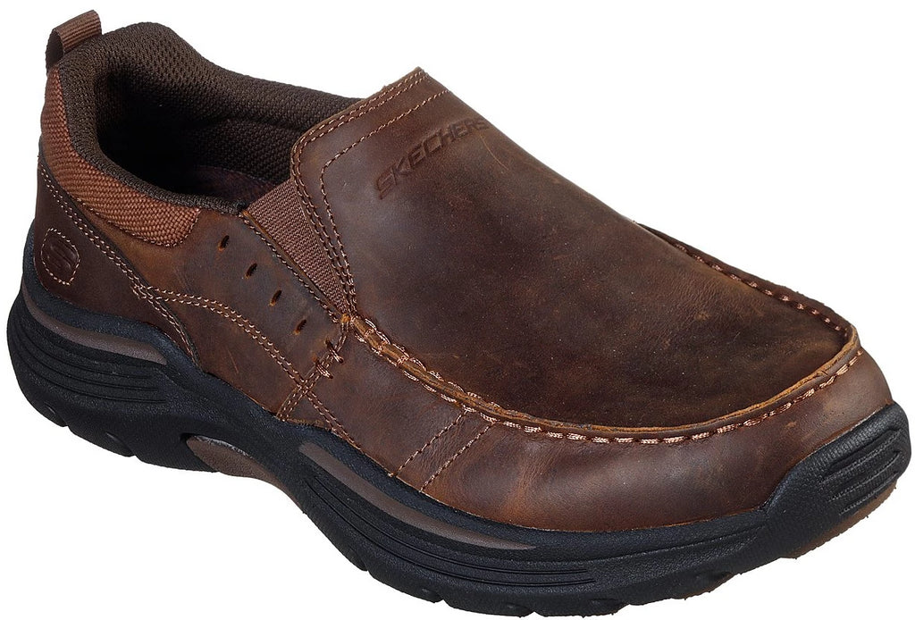 Skechers - Relaxed Fit: Expended - Seveno (66146 Dark Brown)
