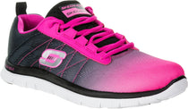 Skechers - 11882 - Flex Appeal New Rival Black Pink Runners