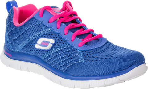 Skechers - Flex Appeal - Obvious Choice (Blue Pink 12058)