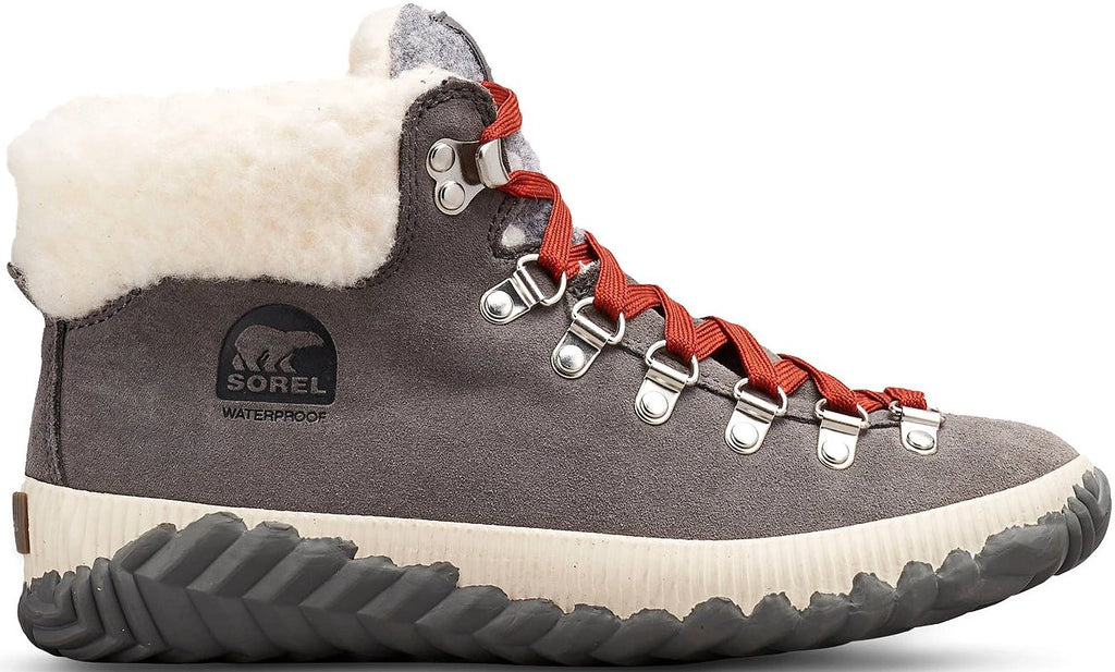 Sorel - Out N About Quarry/Grey Ankle Boots