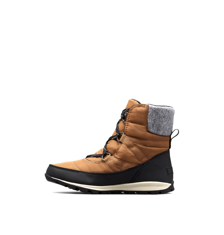 Sorel - Whitney Short Lace Tan Ankle Boots