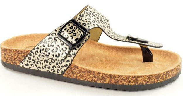 Fabulous Fabs - T30700 Gold Sandals