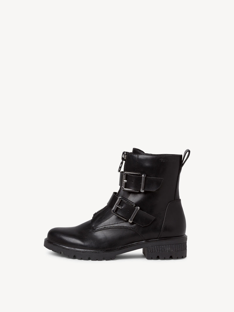 Tamaris - 25414 Black Ankle Boots