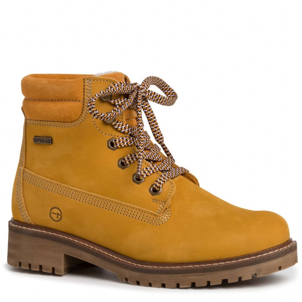 Tamaris - 26244 Yellow (Mango) Ankle Boots