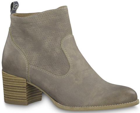 Tamaris - 25330 Taupe Ankle Boots
