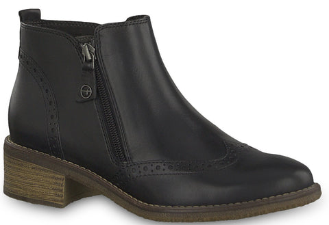 Tamaris - 25355 Anthracite Ankle Boots