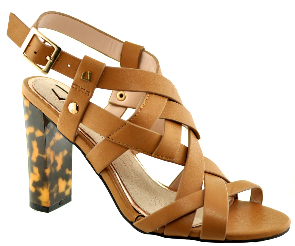Una Healy - Cheers Then Hazel Truffle Sandals