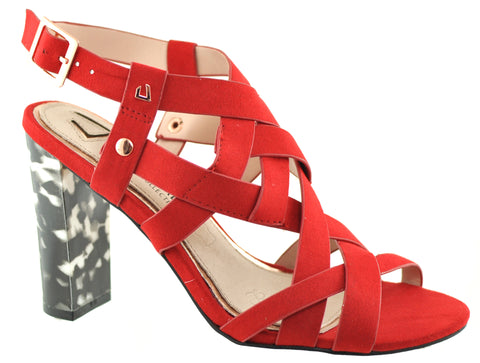 Una Healy - Cheers Then Radical Red Sandals