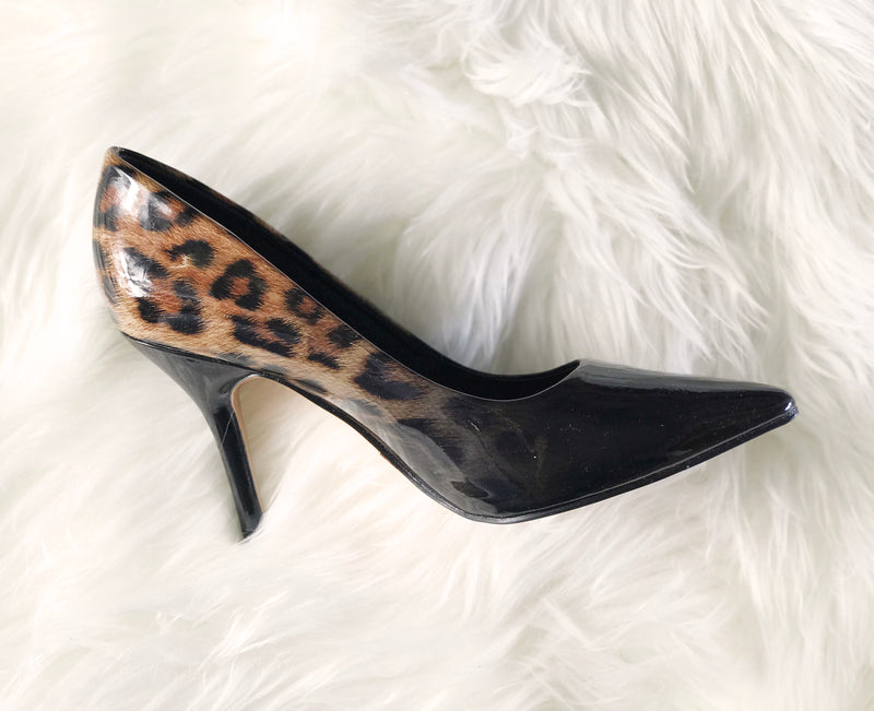 Una Healy - Party Hazel/Leopard Shoes
