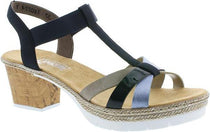 Rieker - V2995 Navy/Multi Sandals