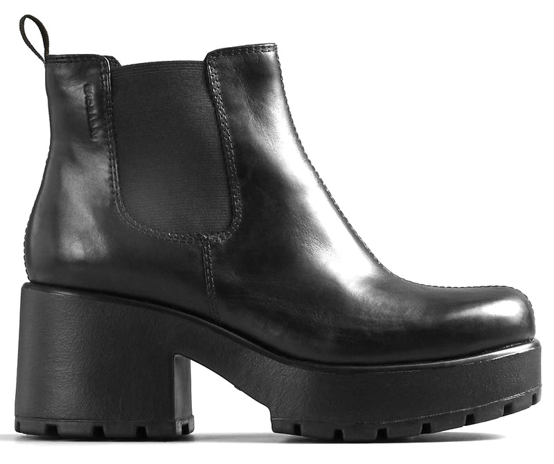 Vagabond - Dioon Black Ankle Boots (4247-201)