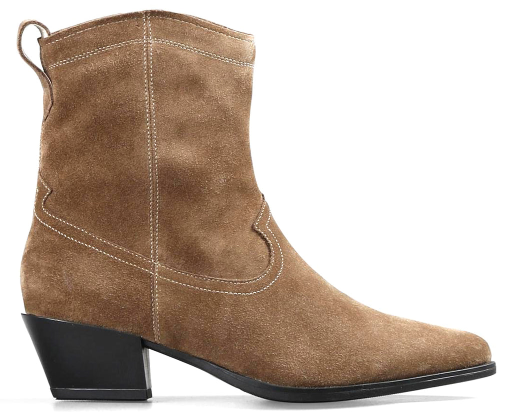 Vagabond - Emily Taupe Ankle Boots (4814-240)