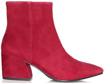 Vagabond - Olivia Wine/Red Suede Ankle Boots (4217-040)