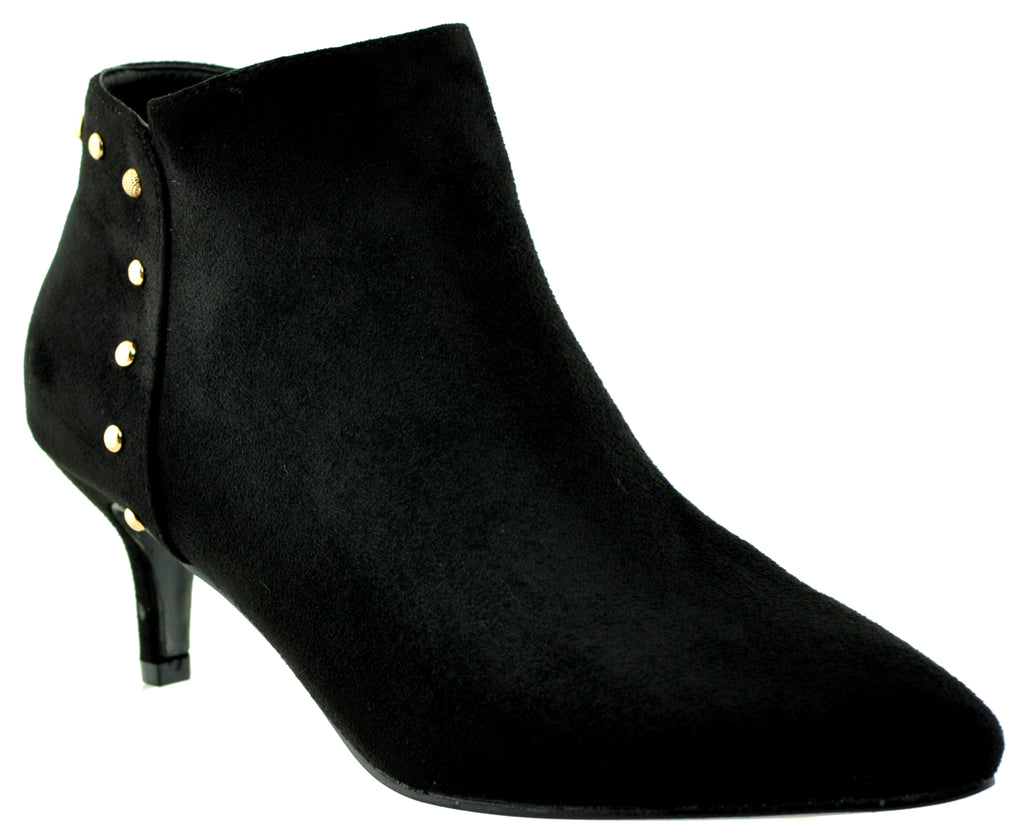 Zanni & Co - Obour Black Ankle Boots