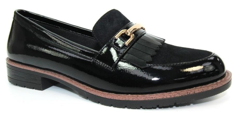 Lunar - Ancora Black Shoes (FLC248)
