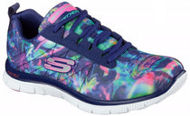 Skechers - Flex Appeal Cosmic Rays (Navy/Multi 12447)