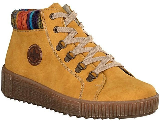Rieker - M6411 Yellow Multi Ankle Boots