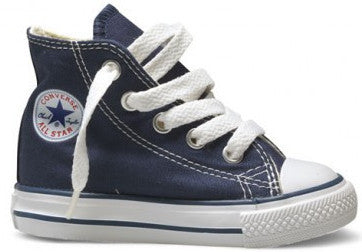 Converse - 7J233 - Hi Navy Toddler Canvas