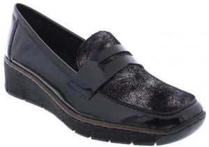 Rieker - 53732 Black Shoes