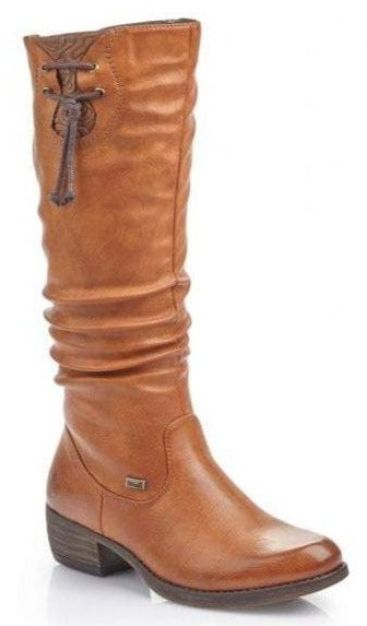 Rieker - 93161 Brown Knee-High Boots