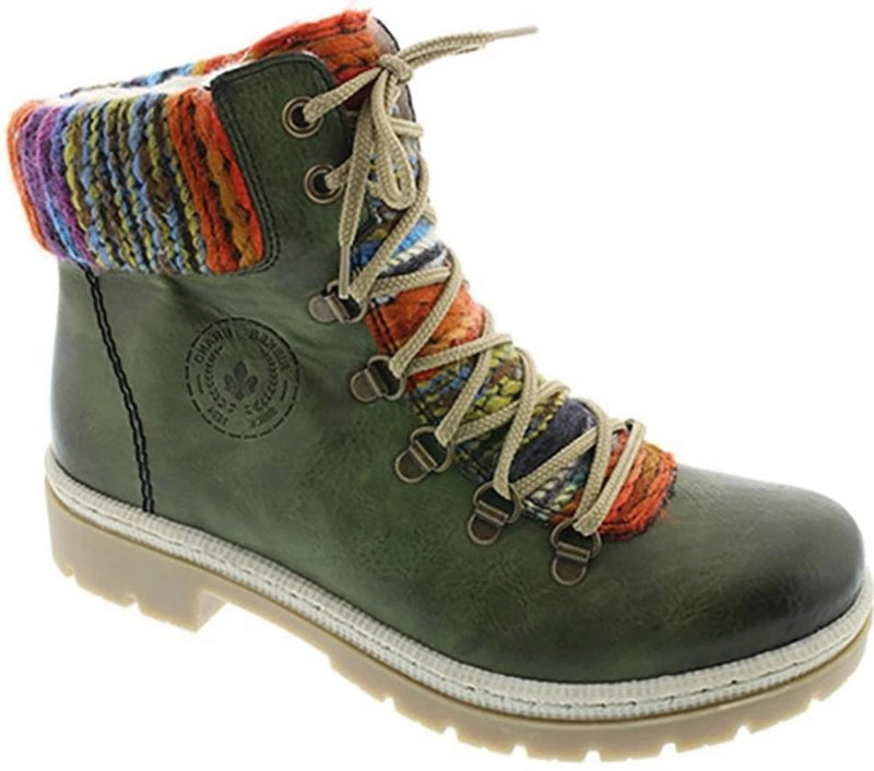 Rieker - Y9432 Leaf/Green Ankle Boots