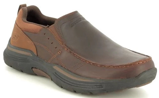 Skechers - Relaxed Fit: Expended - Seveno (66146 Dark Brown UK)