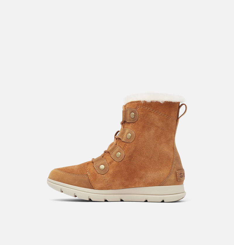 Sorel - Explorer Joan Camel Brown Ankle Boots