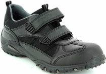 Superfit - Black Double Velcro Shoes (08361-01)
