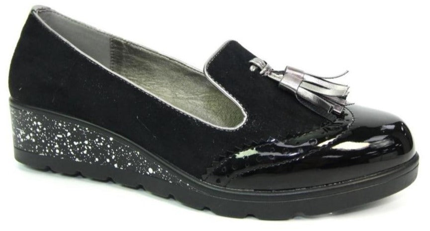 Lunar - Trisha Black Shoes (FLC216)