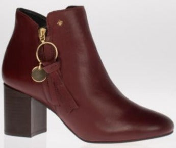 S'Oliver 25121 Brown Ankle Boots