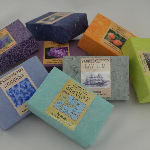 Luxurious Cape Cod Bar Soap by PorterSpa  Made in USA