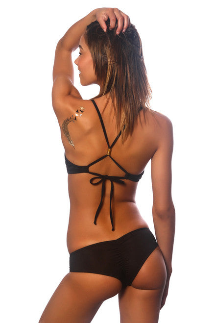 Black Okole Surf Bottoms