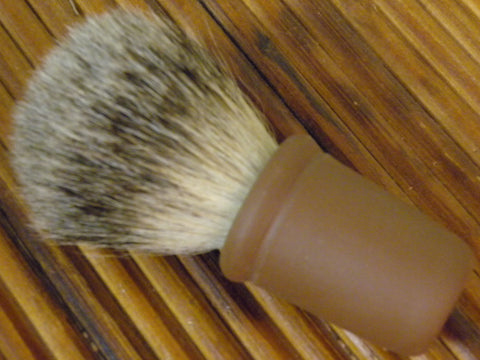 Redware Shaving Brush