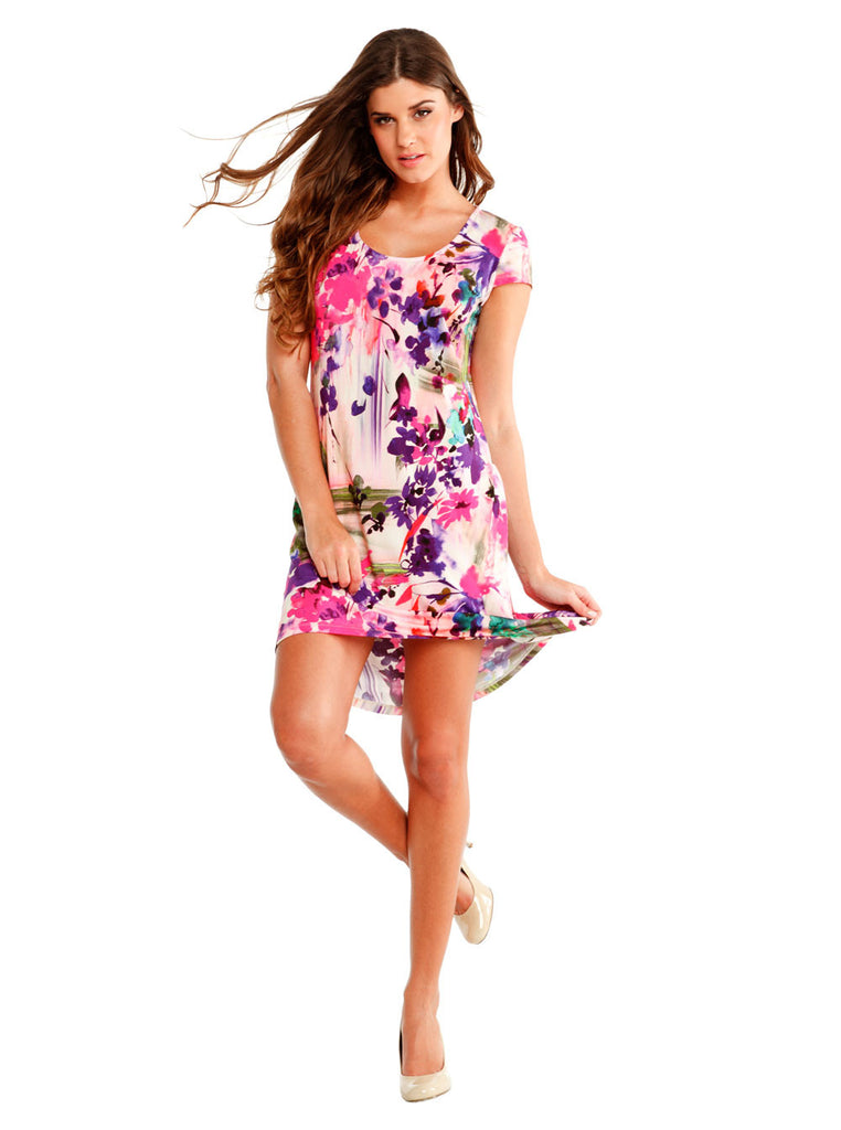 Tropical Chemise Dress