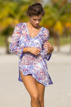 Candy Reef Sheer Tunic