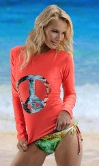 Rainbow Waterfall Rashguard