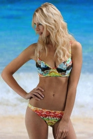 Rainbow Waterfall Underwire Bikini