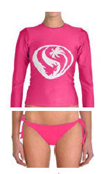 Fuchsia Rash Guard