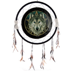 Wolf Dream Catcher/Large