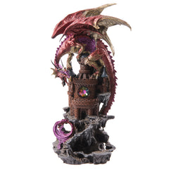 Dragon Castle Dark Legends Dragon Figurine