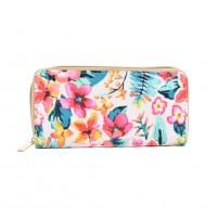 Flower Long Purse