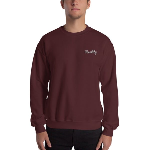 Reality Embroidered Sweatshirt