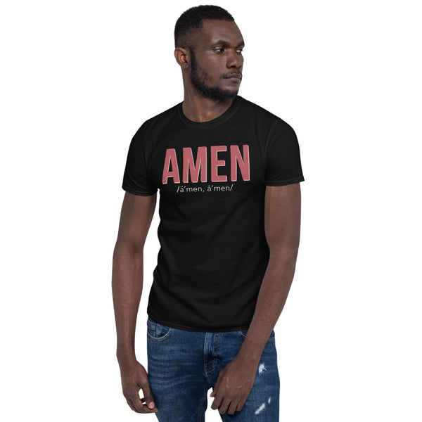 """AMEN"" Short Sleeve"