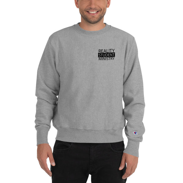 Reality Black Label Champion Sweatshirt