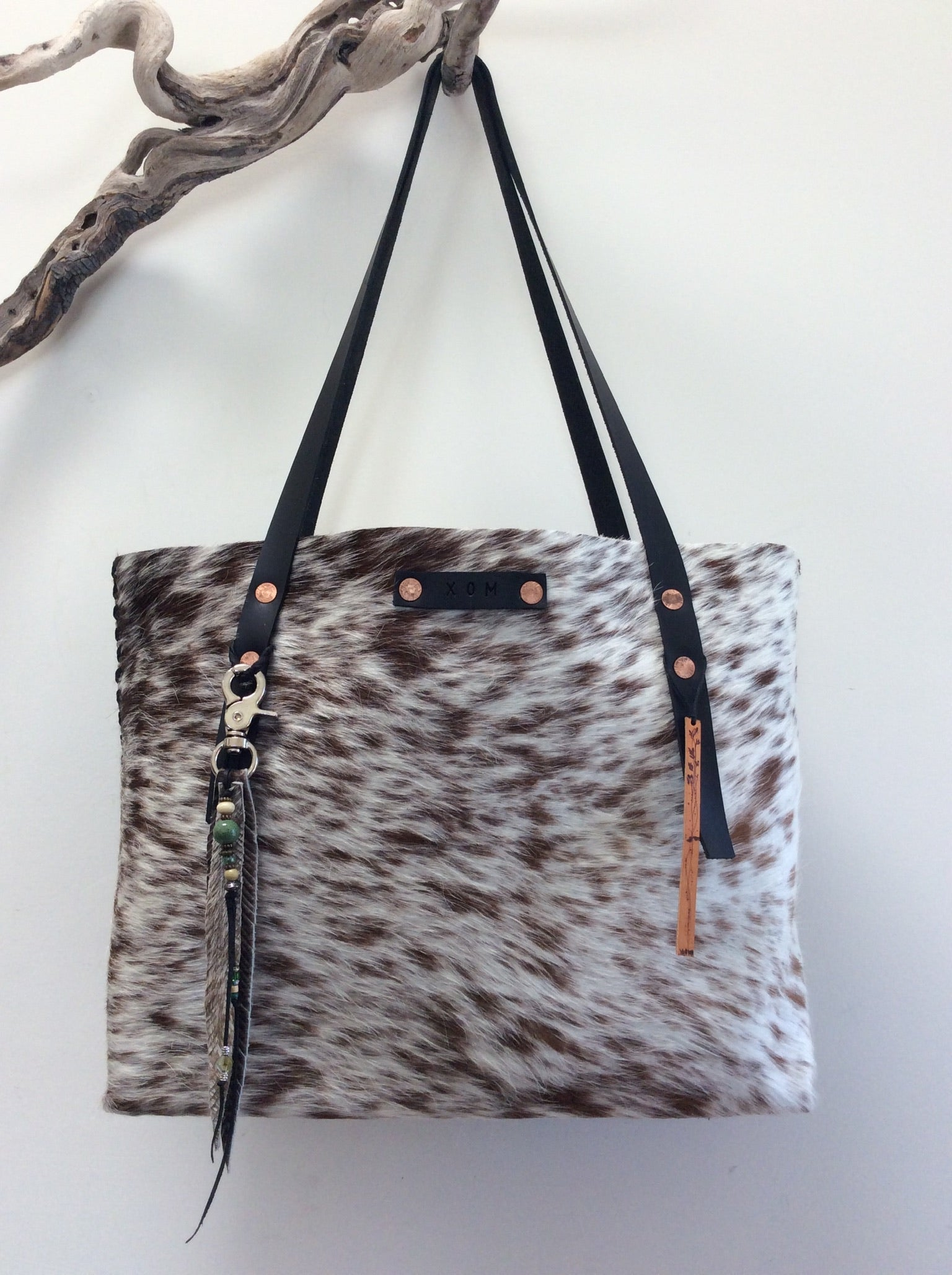 #200 Spotted Hair Cowhide Tote